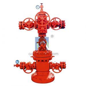 API 6 A Wellhead Equipment Christmas tree for oil rig