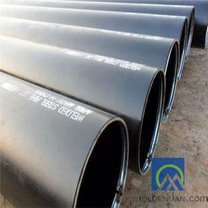API Black welded steel pipe