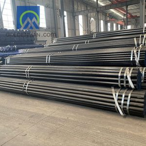 ASTM A106 sch40 seamless steel pipe tube, st37 st52 cold drawn seamless